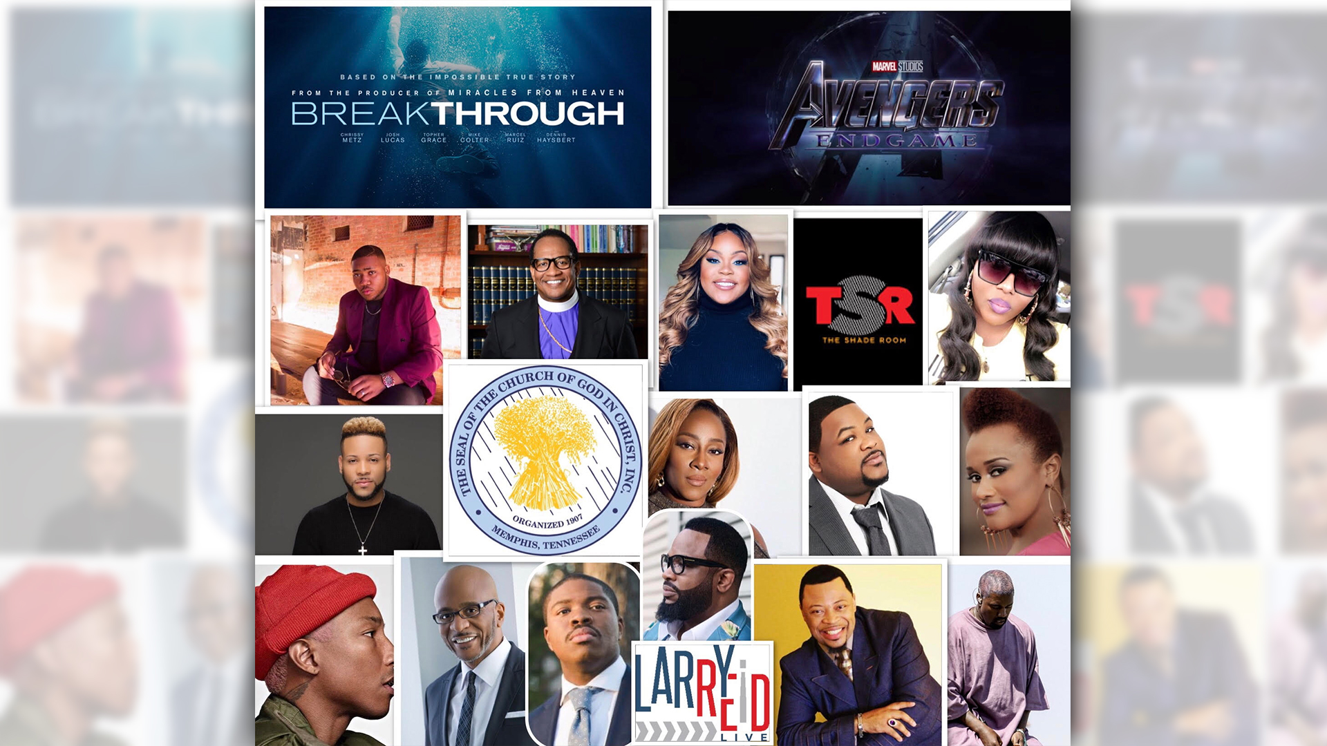 LRL 4.29.19 – Viral Videos, Trending Topics and The Church and Gospel Artists DRAMA